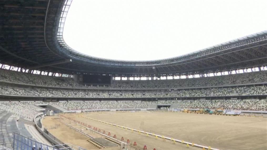 Τόκιο: Ολοκληρώνεται το Ολυμπιακό Στάδιο του 2020