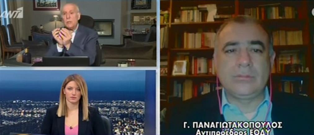 Παναγιωτακόπουλος στον ΑΝΤ1 για κορονοϊό: είναι στο χέρι μας να μην γίνουμε Ιταλία (βίντεο)