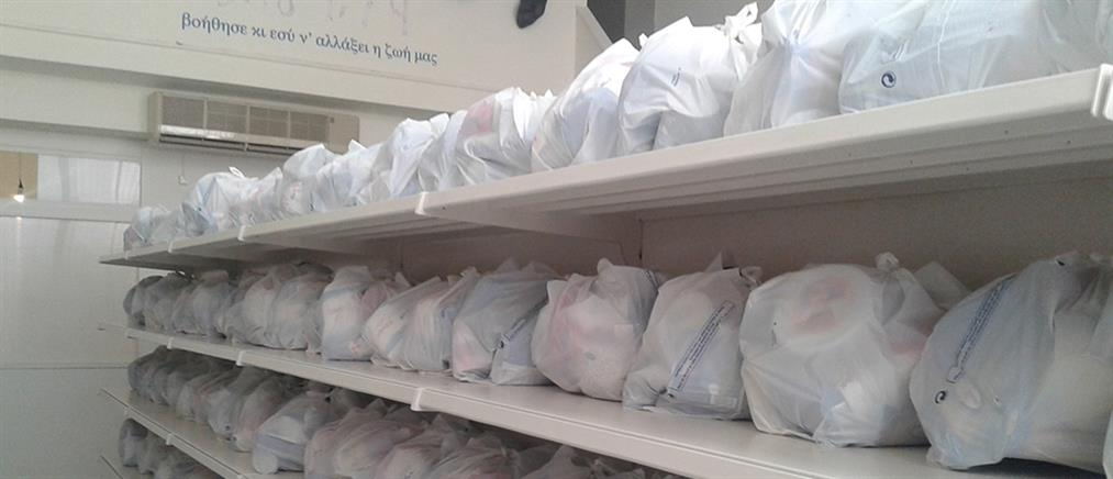 """""""Αποστολή"""": Διανομή τροφίμων σε οικογένειες που έχουν ανάγκη"""