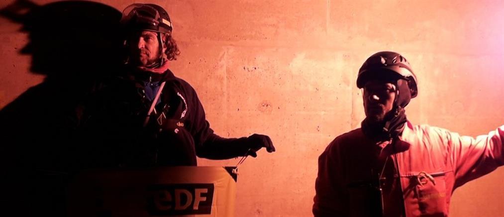 Εισβολή ακτιβιστών της Greenpeace σε πυρηνικό σταθμό (βίντεο)