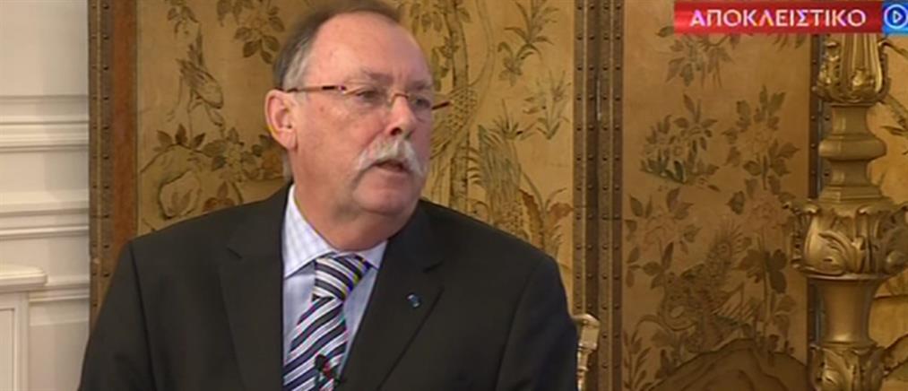 Ο Ρόντρικ Μπίτον μιλά στον ΑΝΤ1 για την αγάπη του για την Ελλάδα (βίντεο)
