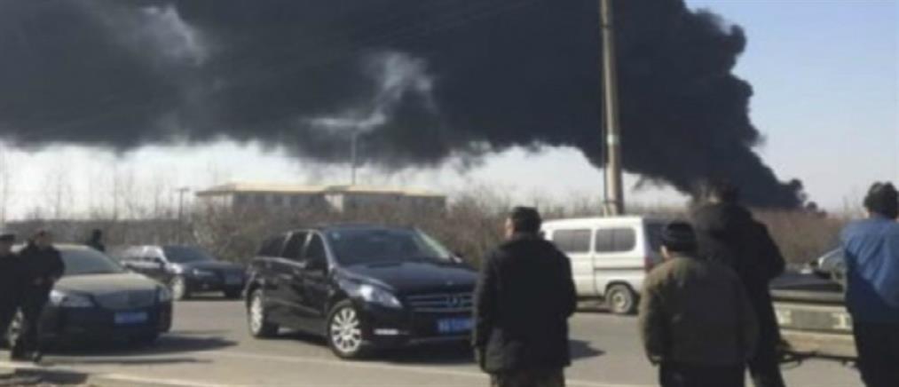 Πολύνεκρη τραγωδία στην Κίνα από διαρροή αερίου