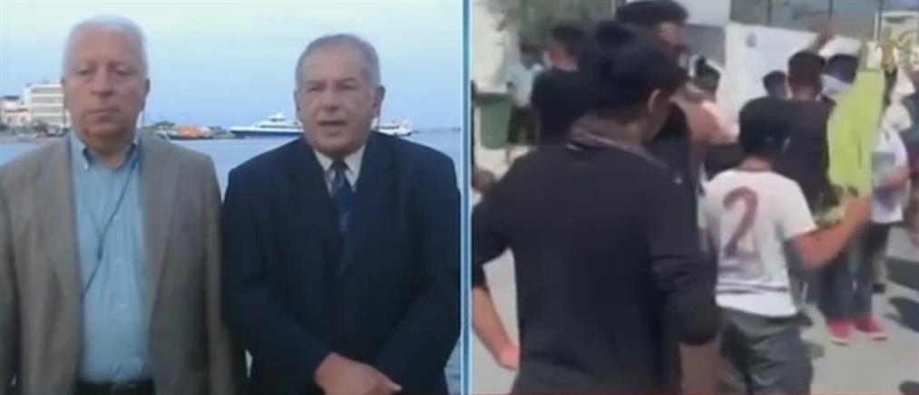 Μουτζούρης στον ΑΝΤ1: Να αδειάσουν τα νησιά του Βορείου Αιγαίου από τους πρόσφυγες (βίντεο)