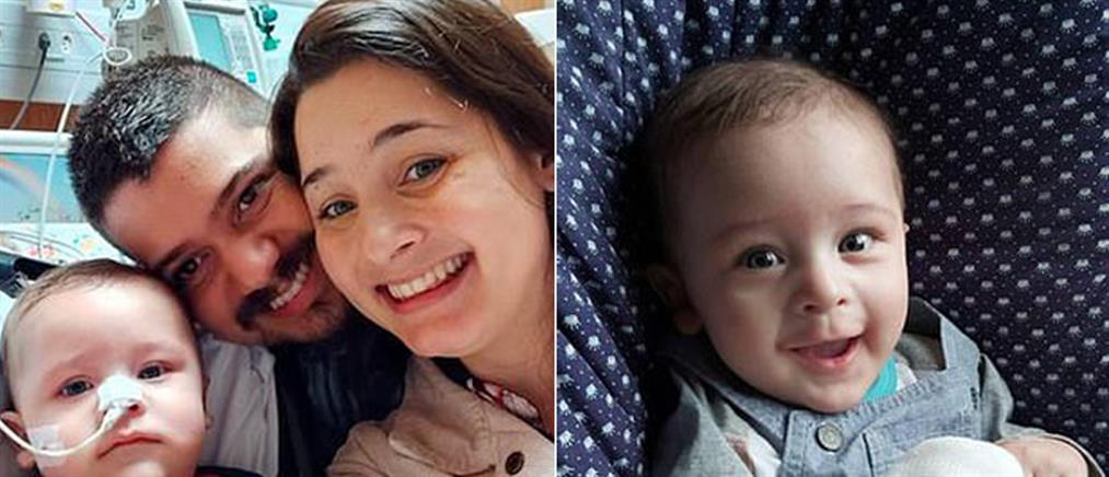 Μετά από 32 μέρες σε κώμα, ένα μωρό νίκησε τον κορονοϊό (εικόνες)