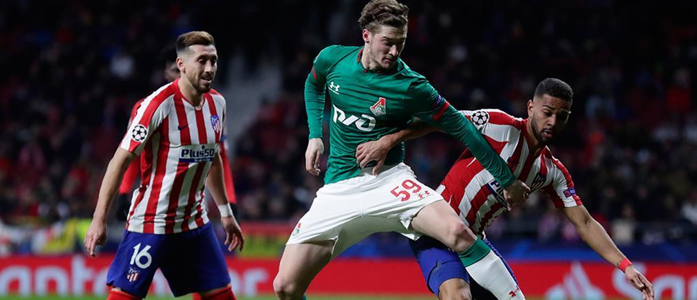 "Champions League: στους ""16"" η Ατλέτικο Μαδρίτης, απόλυτη Μπάγερν"
