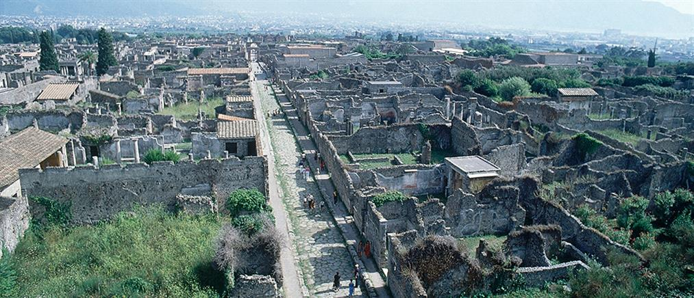 Ιταλία: Ανοιχτή για τους τουρίστες η Πομπηία