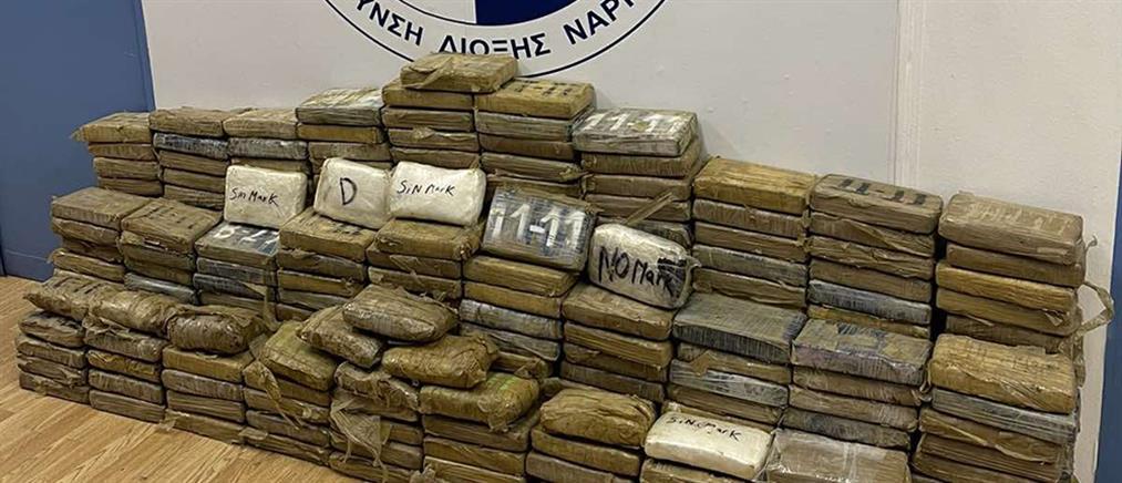 Πειραιάς: Κοκαΐνη κρυμμένη σε κοντέινερ με τσουβάλια καφέ (εικόνες)