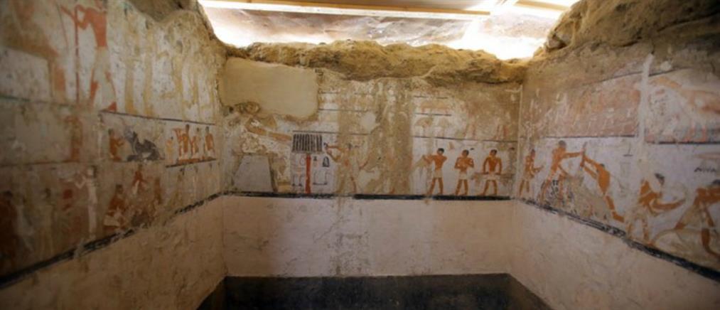 Βρέθηκε τάφος ηλικίας 4400 ετών (βίντεο)