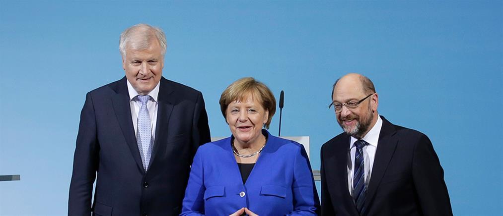 """""""Ναι"""" στον μεγάλο συνασπισμό από το SPD"""