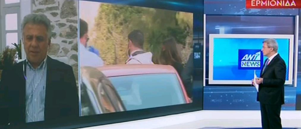 Δήμαρχος Ερμιονίδας στον ΑΝΤ1: Μας σόκαρε ο αριθμός των κρουσμάτων (βίντεο)