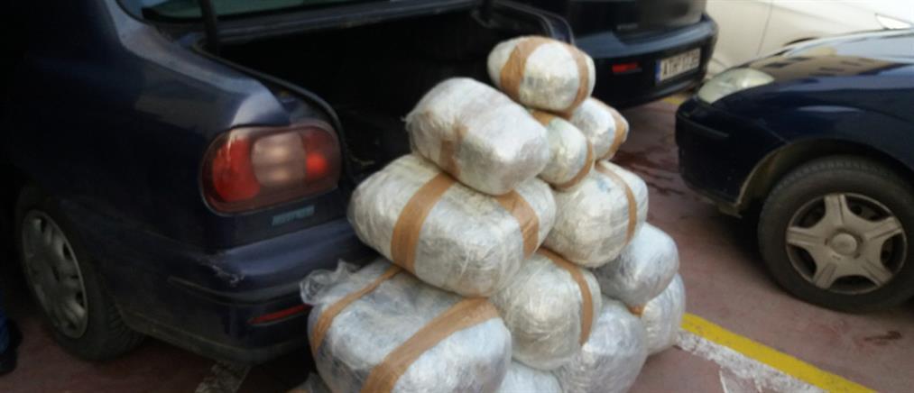 Μπλόκο σε δεκάδες κιλά κάνναβης (εικόνες)