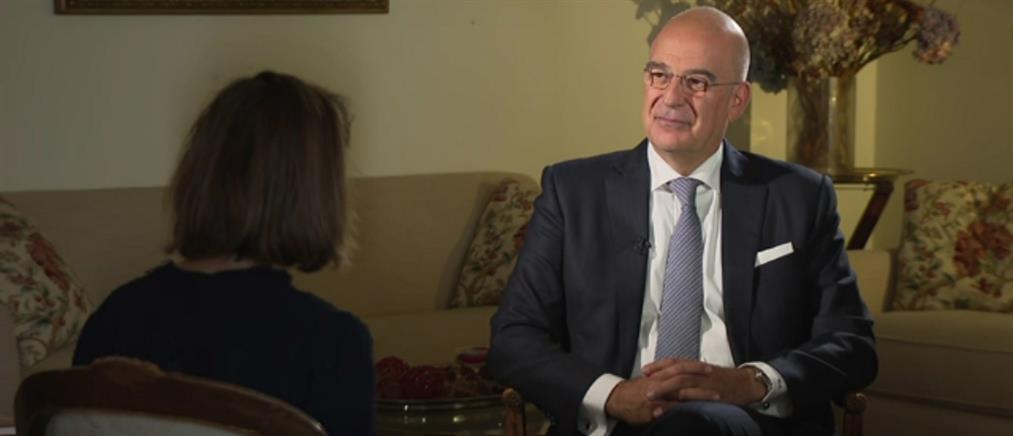 """Δένδιας στο Associated Press: Η δέσμευση των ΗΠΑ και το """"όραμα"""" της Τουρκίας (βίντεο)"""