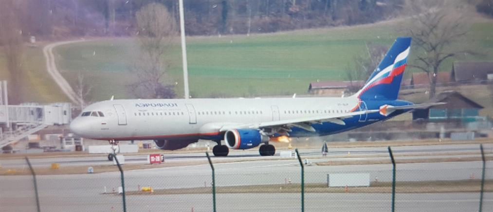Φωτιά εν πτήσει σε αεροσκάφος της Aeroflot!