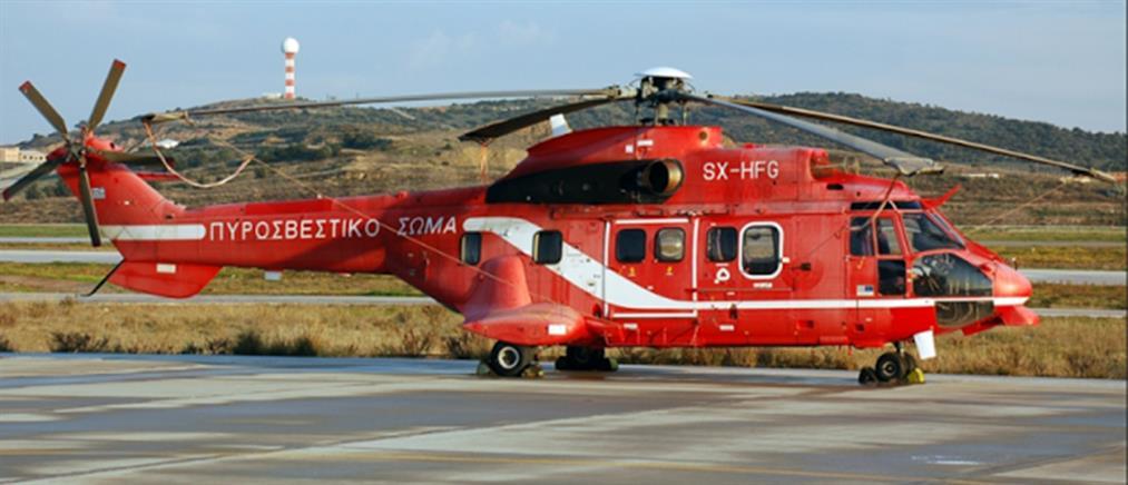 Χαλκιδική: με ελικόπτερο μεταφέρεται ασθενής στη Θεσσαλονίκη