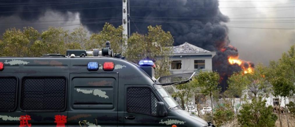 Μεγαλώνει η λίστα των θυμάτων από την ισχυρή έκρηξη στην Κίνα