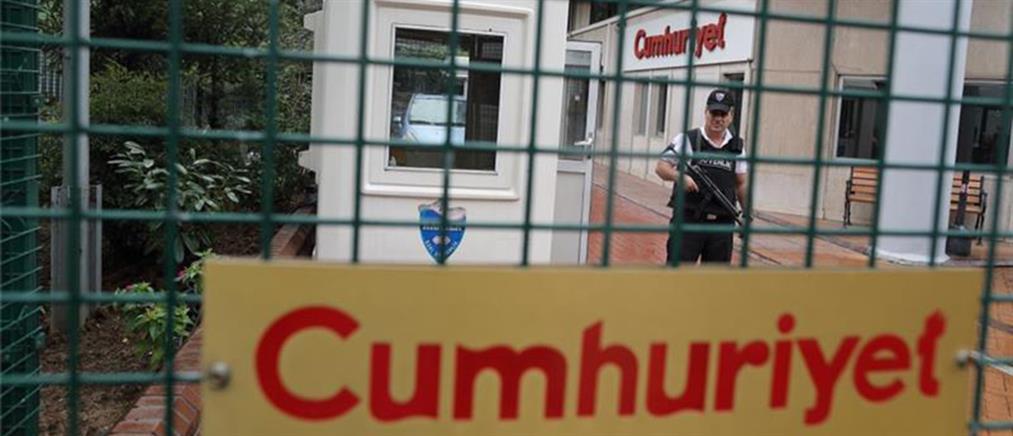 Συνελήφθη και ο διευθυντής του site της Cumhuriyet