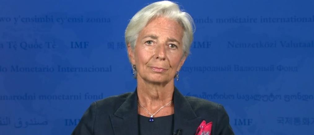 """Η Λαγκάρντ """"βλέπει"""" σημαντική αναδιάρθρωση του ελληνικού χρέους"""