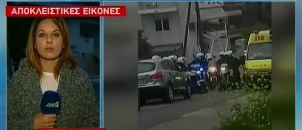 Αποκλειστικές εικόνες: Πυροβολισμοί σε επιχείρηση της Αστυνομίας στην Πυλαία