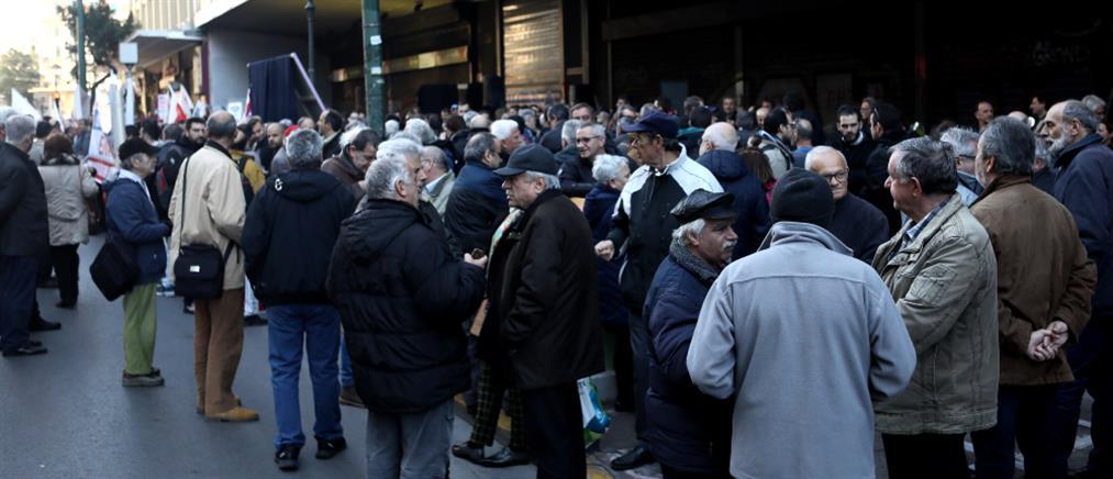 """Κυκλοφοριακό """"έμφραγμα"""" στο κέντρο της Αθήνας (εικόνες)"""