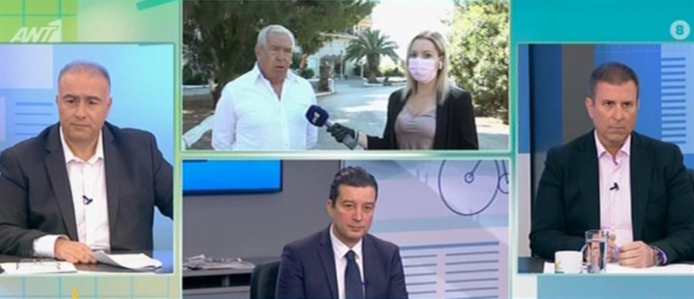 """Κρανίδι: """"φοβόμαστε να βγούμε από το σπίτι, μετά το νέο κρούσμα κορονοϊού σε πρόσφυγα"""" (βίντεο)"""