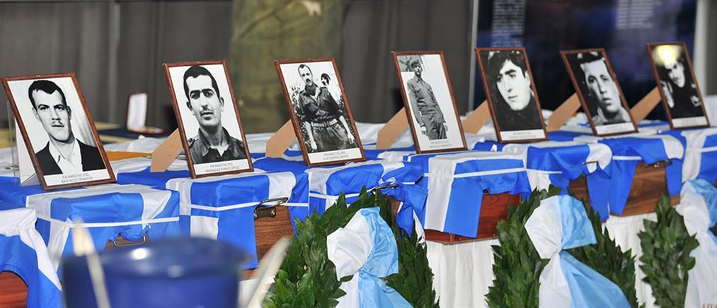 Στην Ελλάδα τα λείψανα των 17 ηρώων της ΕΛΔΥΚ (βίντεο)