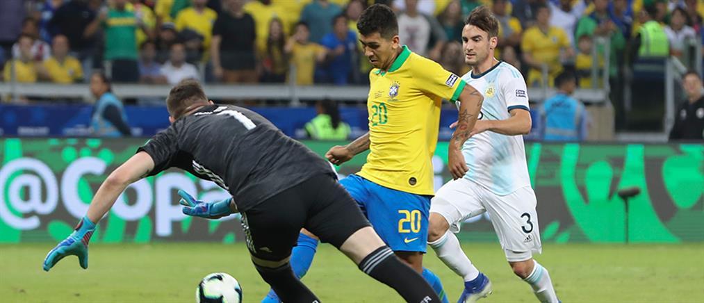 Copa America: η Βραζιλία απέκλεισε την Αργεντινή και πάει τελικό