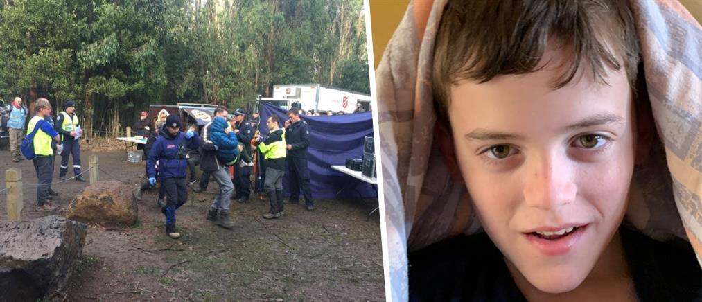 Αγόρι βρέθηκε ζωντανό μετά από 47 ώρες στο δάσος