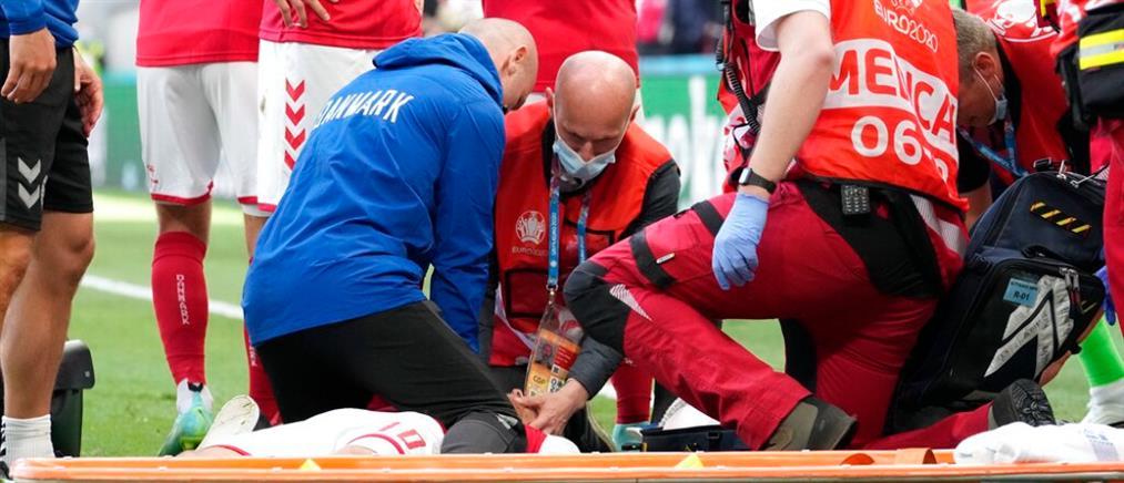 Euro 2020 - Έρικσεν: νέα ανακοίνωση για την υγεία του