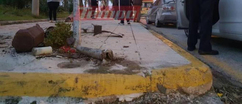 Αυτοκίνητο χτύπησε πεζούς (εικόνες)