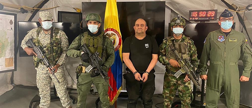 """Κολομβία - Ναρκωτικά: χειροπέδες στον """"εγκέφαλο"""" μεγάλου καρτέλ"""