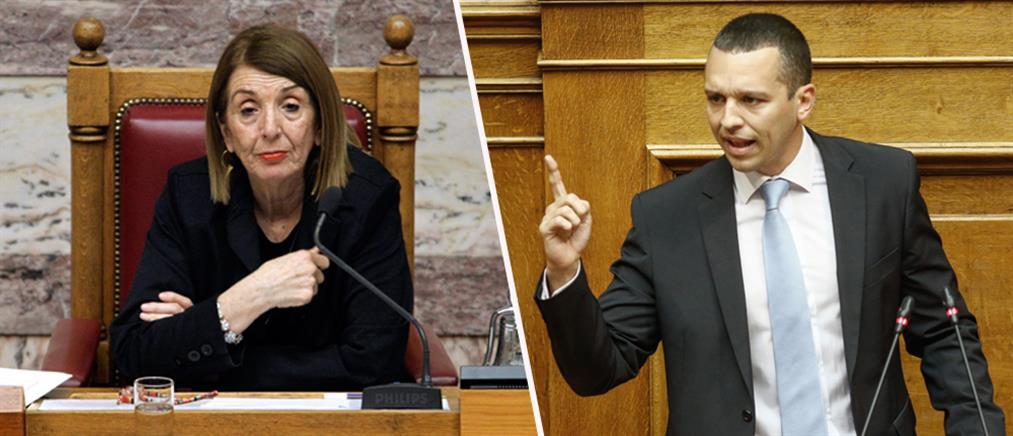 ΣΥΡΙΖΑ για Κασιδιάρη: η Βουλή πρέπει να ξεβρωμίσει από τον φασιστικό λόγο