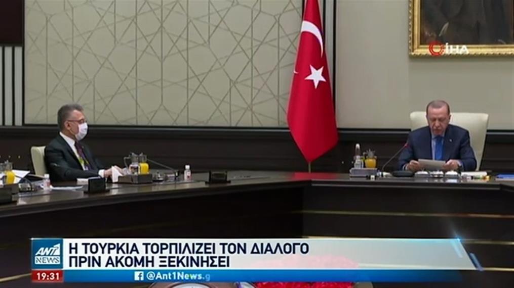 """Τουρκία: """"Τορπιλίζει"""" τον διάλογο με την Ελλάδα, πριν ακόμη ξεκινήσει"""
