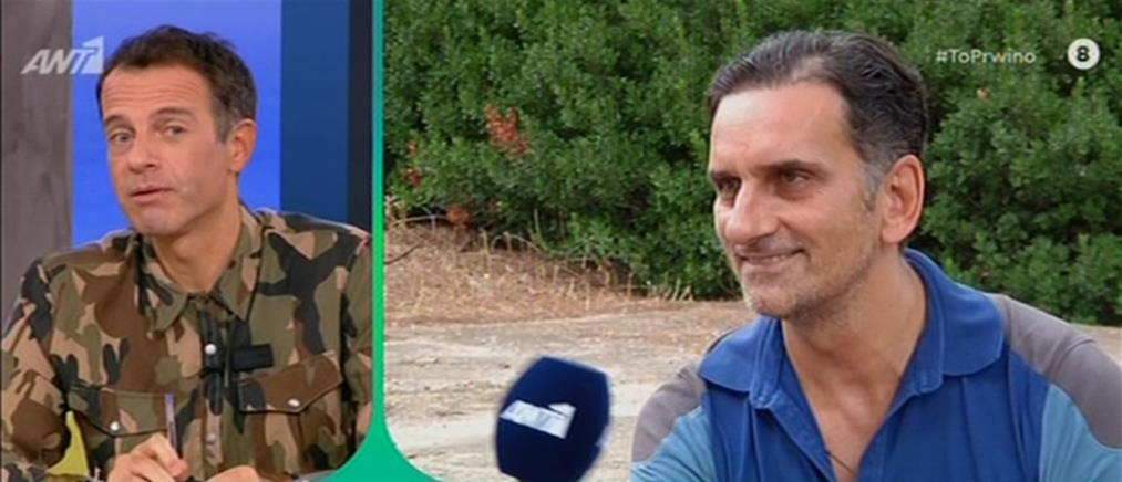 Νίκος Ψαρράς: είναι στοίχημα η μετάβαση από ζεν πρεμιέ σε ρολίστα (βίντεο)