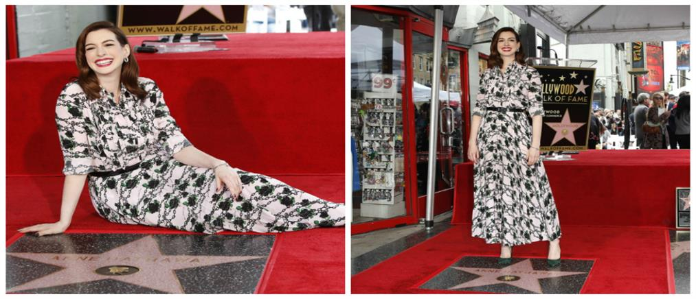 Αστέρι στο Χόλιγουντ για την Αν Χάθαγουεϊ