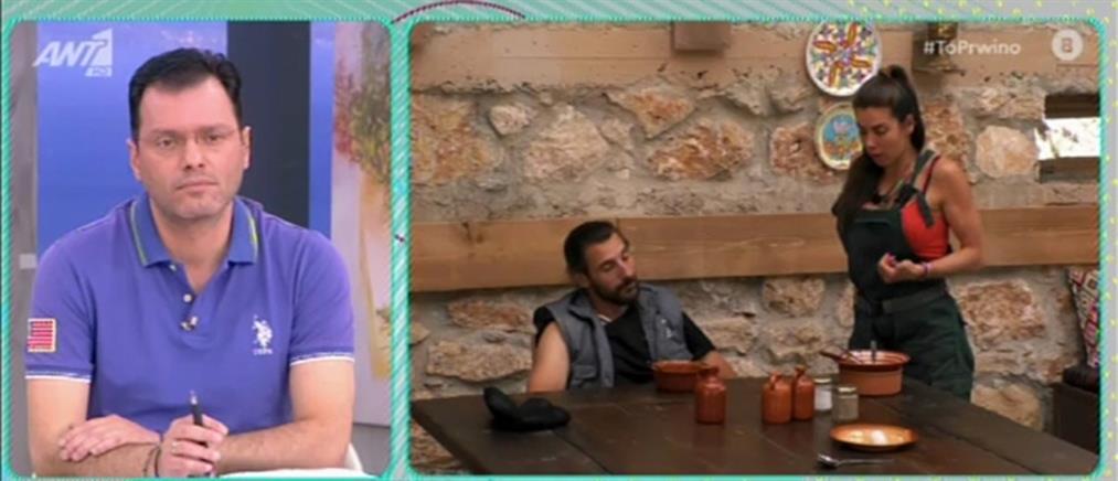 """Η """"Φάρμα""""στο """"Πρωινό"""": Μπάχαλο με τον Ντούμπη (βίντεο)"""