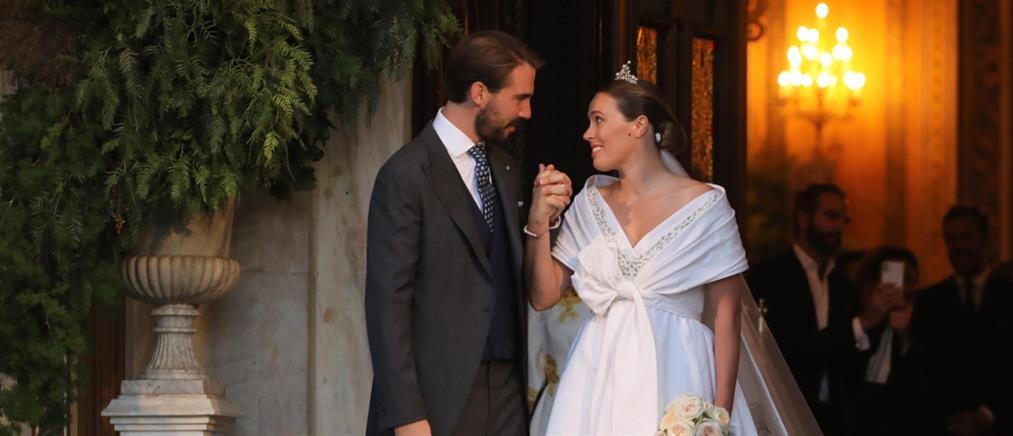 Φίλιππος – Νίνα Φλορ: Ο παραμυθένιος γάμος στην Μητρόπολη (εικόνες)