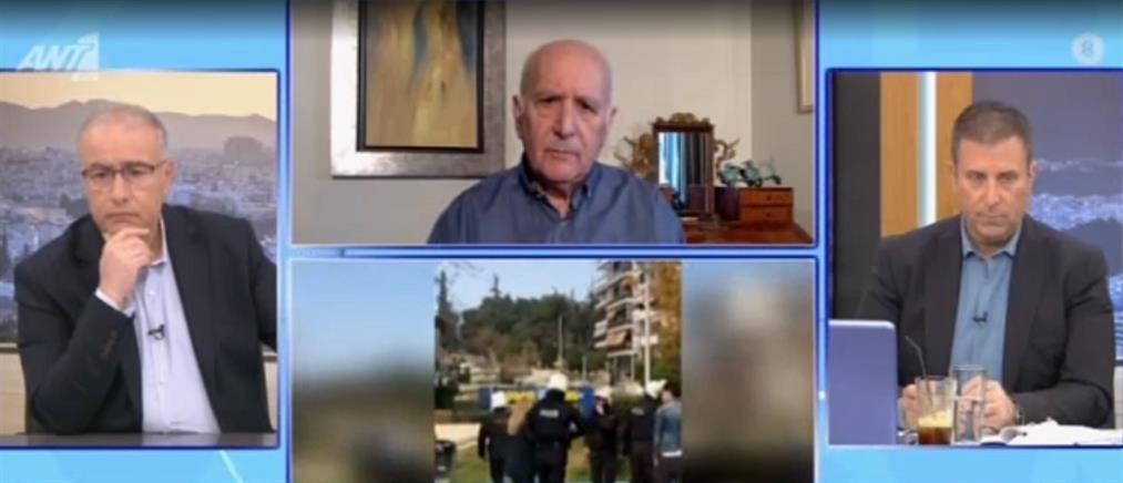 Κρικέτος για Νέα Σμύρνη: ευθύνη των Αξιωματικών ο έλεγχος για τα μεταλλικά γκλομπς (βίντεο)