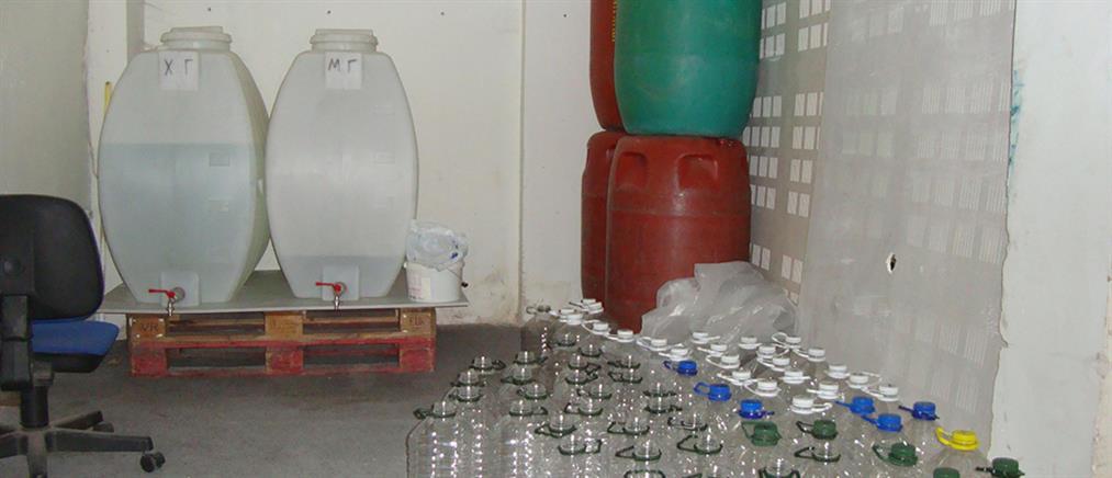 Λαθρεμπόριο αλκοολούχων ποτών στην Καλαμαριά