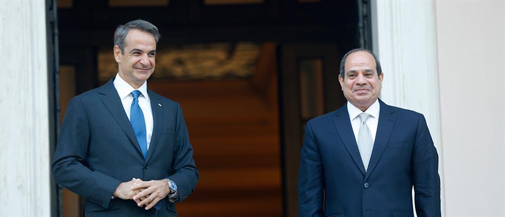 Μητσοτάκης προς Σίσι: Αποσταθεροποιητικός ο ρόλος της Τουρκίας