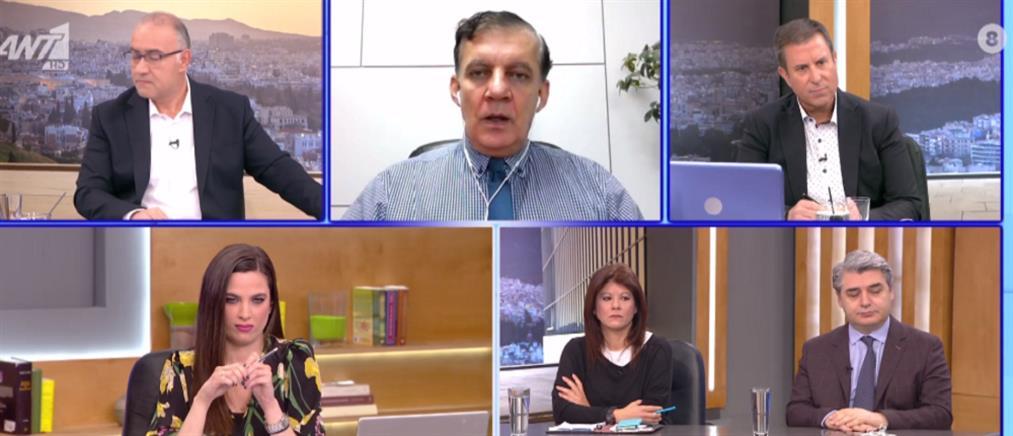 Δημόπουλος στον ΑΝΤ1: κρίσιμη εβδομάδα για την άρση του lockdown