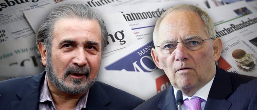 """""""Οργιάζουν"""" τα γερμανικά ΜΜΕ για Λαζόπουλο"""