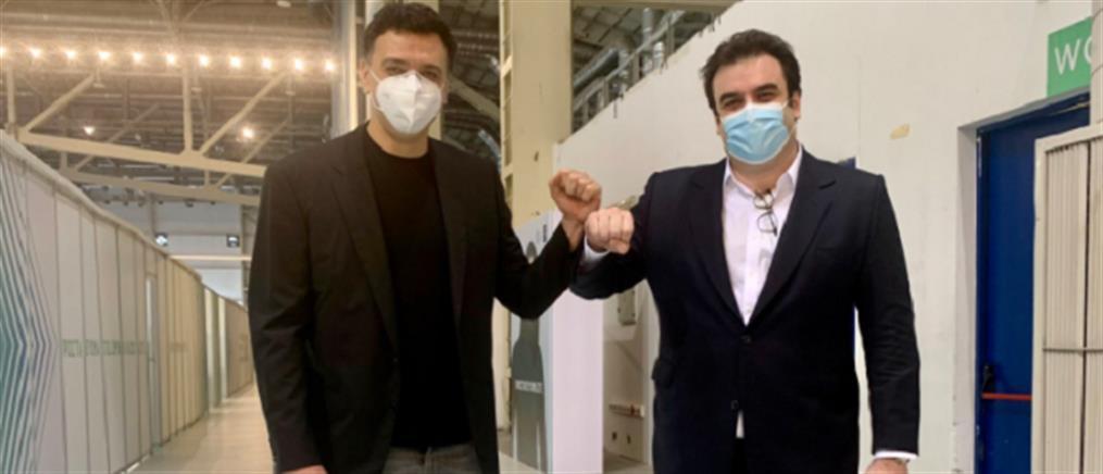 Κορονοϊός - Κικίλιας: Τον Απρίλιο θα έχουμε 1,5 εκατομμύριο εμβολιασμούς