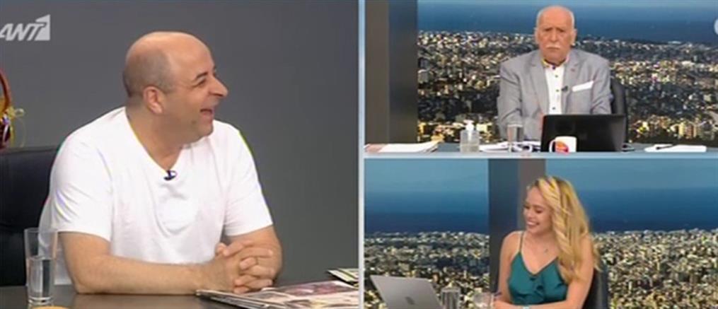 """Ο Μάρκος Σεφερλής στο """"Καλημέρα Ελλάδα"""" (βίντεο)"""