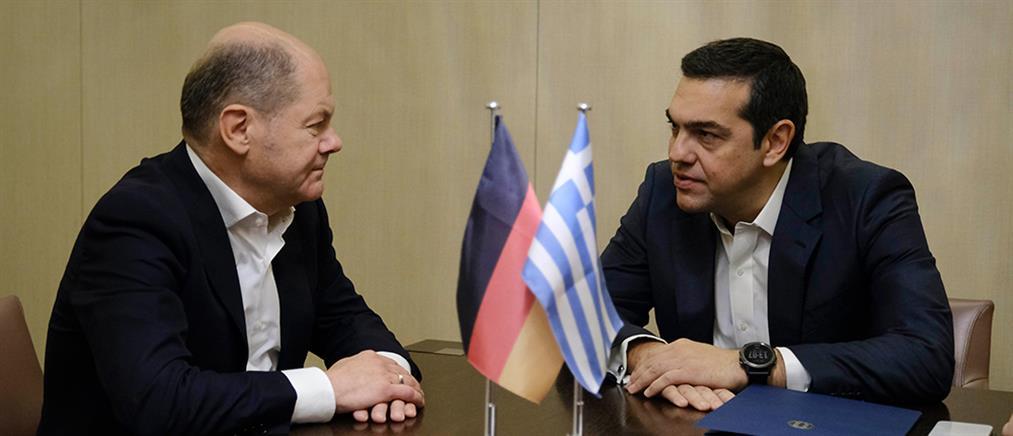 Σολτς: η ελληνική κυβέρνηση κινείται πολύ λογικά και σοφά για τις συντάξεις