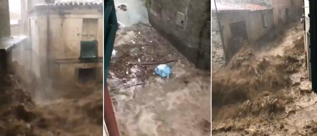 Ιταλία: Φονικές πλημμύρες στη Σαρδηνία (βίντεο)