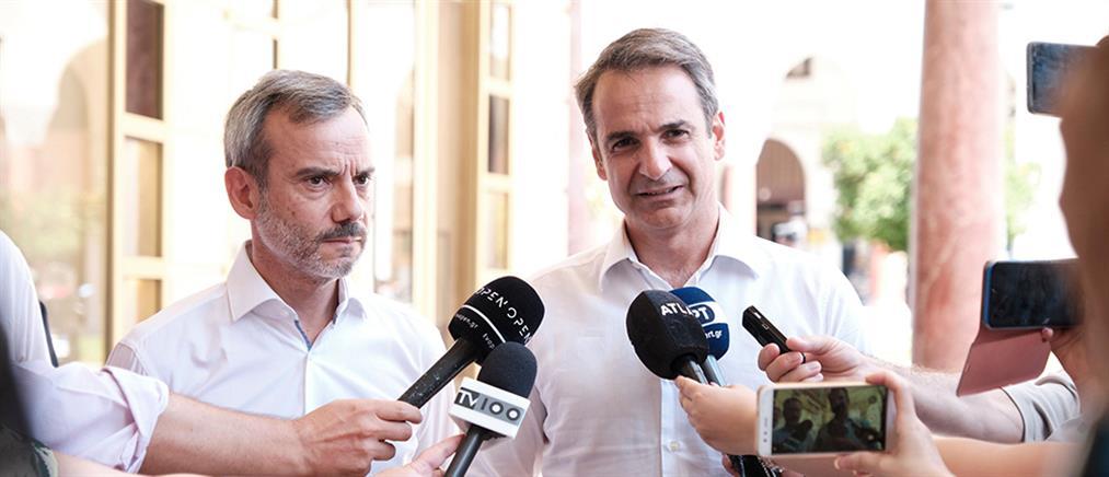 Μητσοτάκης: έχουμε πολύ φιλόδοξα σχέδια για τη Θεσσαλονίκη