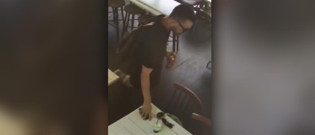 Καρέ – καρέ η κλοπή κινητού από μαγαζί (βίντεο)