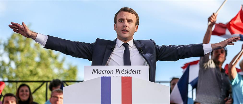 Νέος Πρόεδρος της Γαλλίας ο Μακρόν