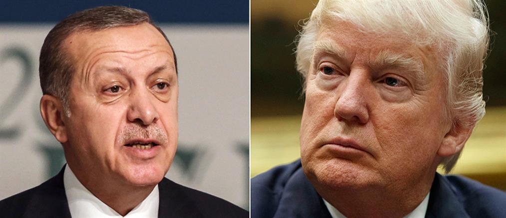 Τραμπ: εξακολουθούμε να εξετάζουμε την επιβολή κυρώσεων στην Τουρκία