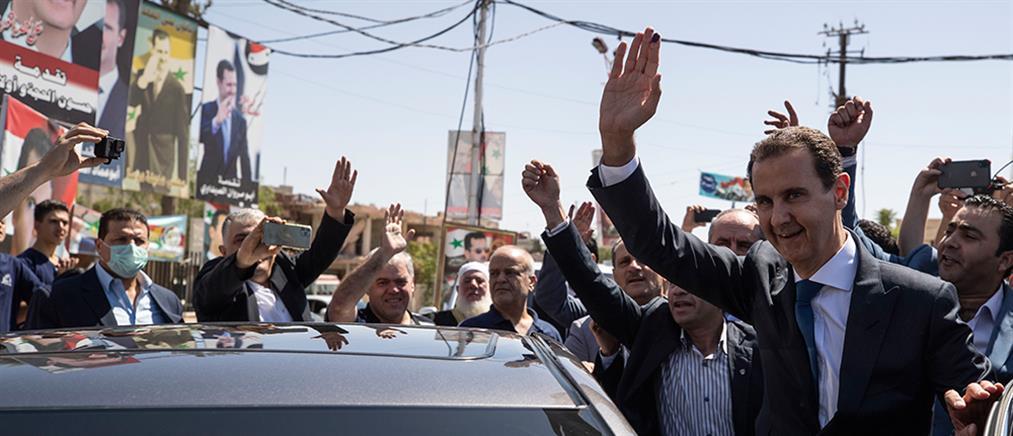 Συρία: Ο Μπασάρ αλ Άσαντ επανεξελέγη Πρόεδρος